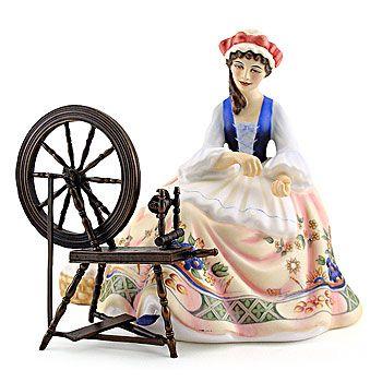 Royal Doulton Figurine, Spinning HN2390
