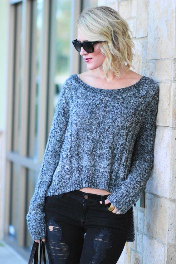 Belle de Couture: Pullover Sweater