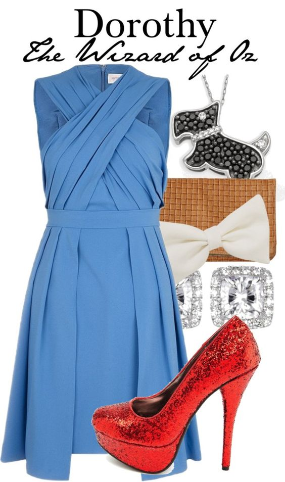"""""""Dorothy - The Wizard of Oz"""" by thebroadwaywardrobe ❤ liked on Polyvore"""
