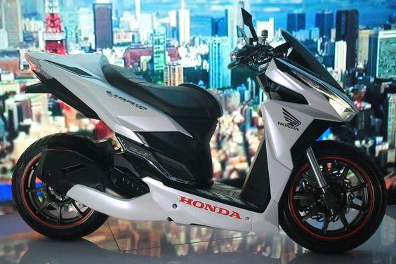 Modifikasi Honda Vario 150 ESP Tampil Sporty Dan