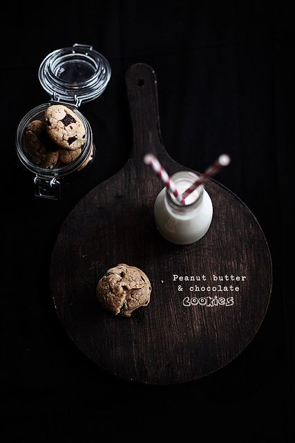 Peanut butter chocolate cookies by Call me cupcake