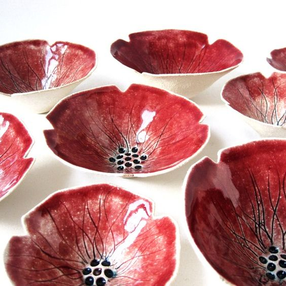 poppy bowls: