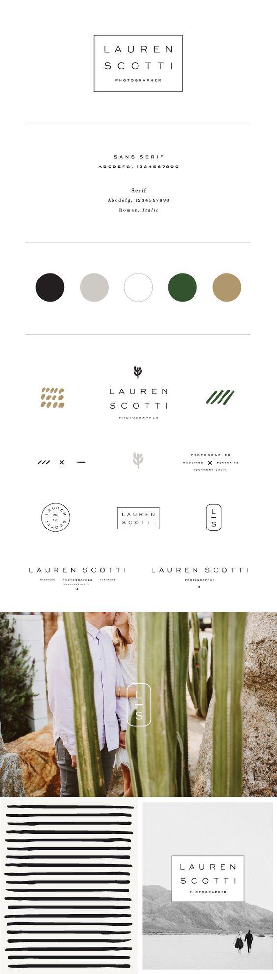 Brand Identity for Lauren Scotti Photographer by Saturday Studio