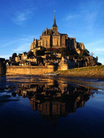 Mount Saint Michel, Normandy France