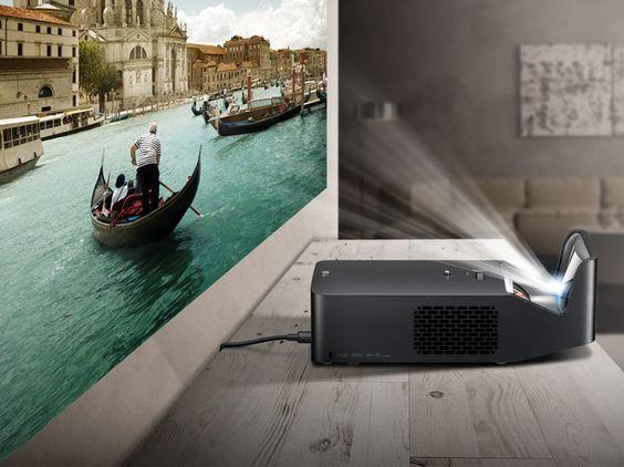 LG Minibeam PF1000U : un nouveau vidéoprojecteur à très courte focale