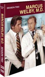 Marcus Welby, M.D.  Robert Young as Dr. Welby and James Brolin as Dr. Steven Kiley.