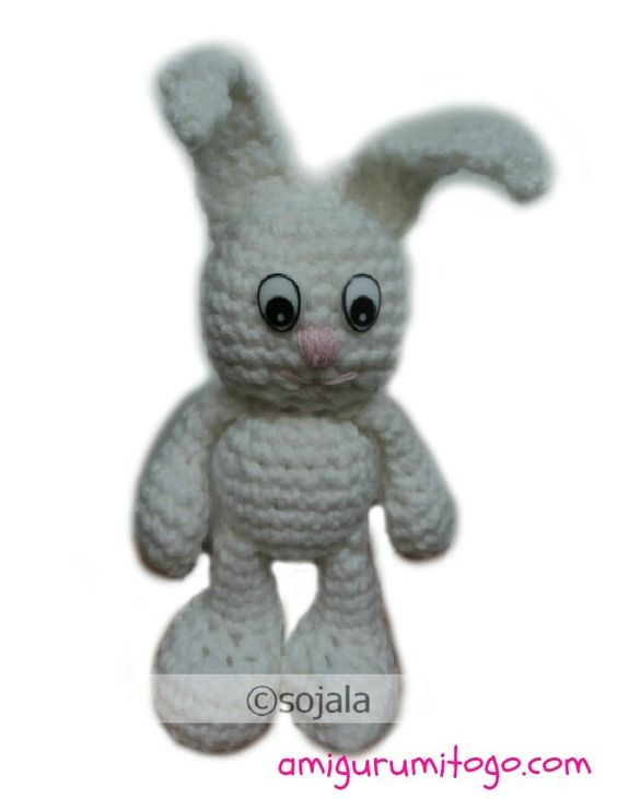 Amigurumi To Go Bigfoot Bunny : Pinterest The world s catalog of ideas