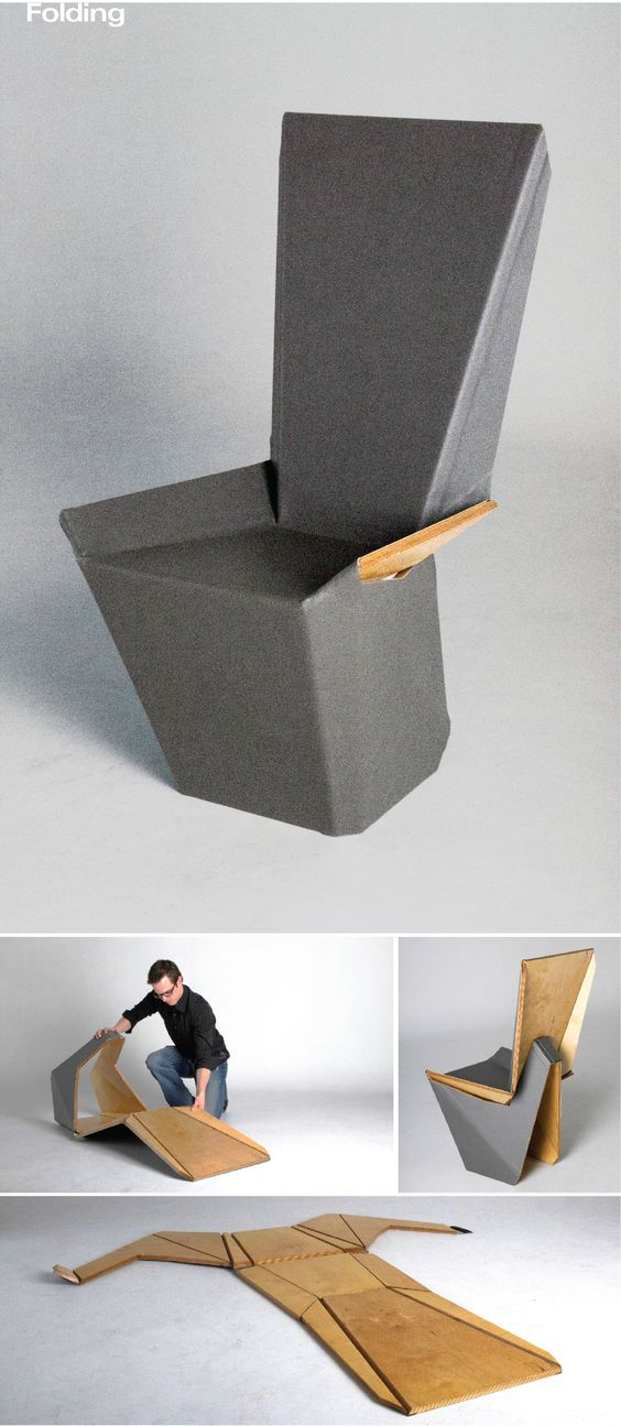 Flat Stanley Origami Chair on Behance