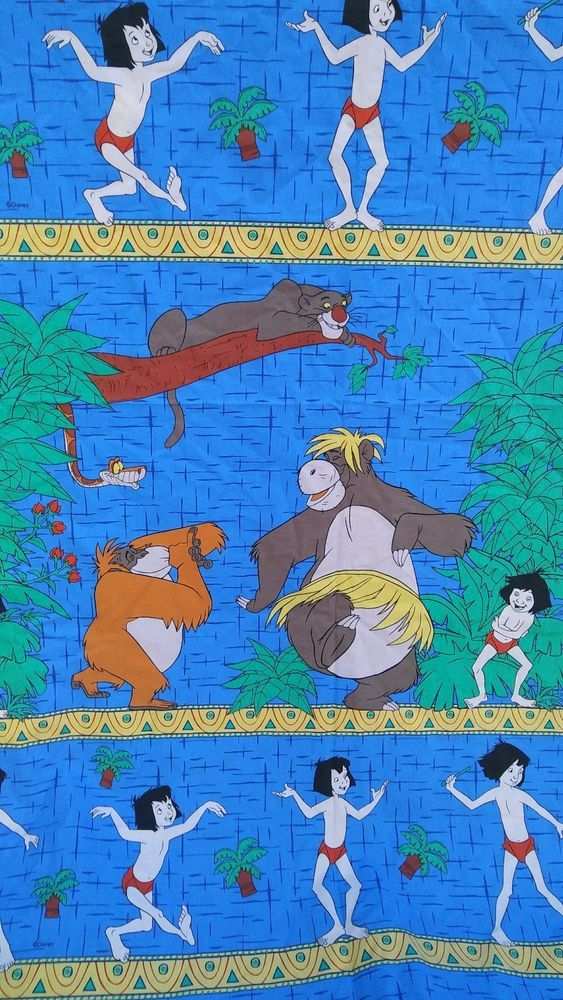 DISNEY JUNGLE BOOK TOSS FABRIC