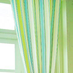 (Two Panels) Elegant Collision Color Stripes Energy Saving Curtain   LightInTheBox
