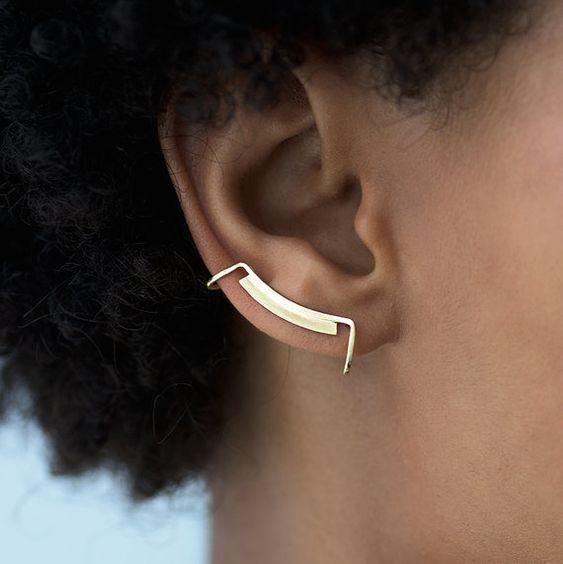 Ligne et Surface oreille brassard. Manchette d'oreille par knobbly