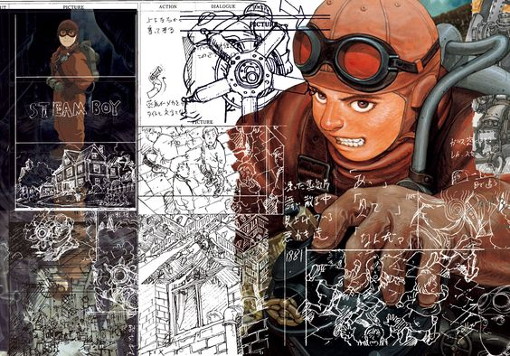 Katsuhiro Otomo, Nobrow, and Japanese fashion house Comme des Garçons collaboration