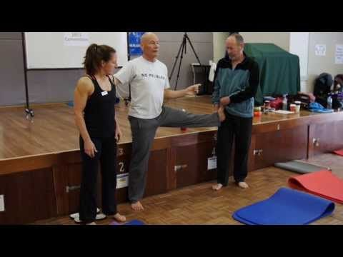 "▶ The ""half-Pancake"" exercise to help hip mobility - YouTube"