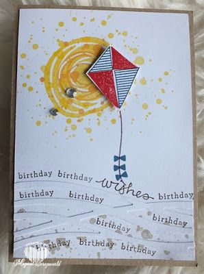 Stampin' Up! Swirly Bird, scribbles, Magical Scrapworld: