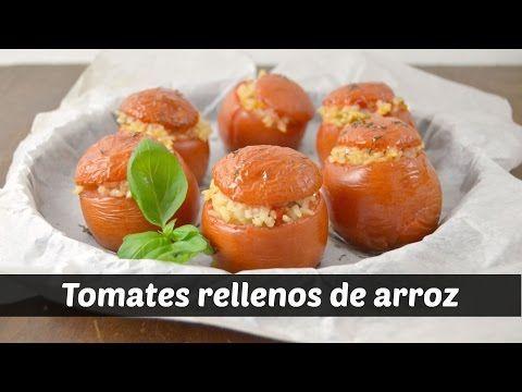 Tomates rellenos de arroz - Cocina familiar