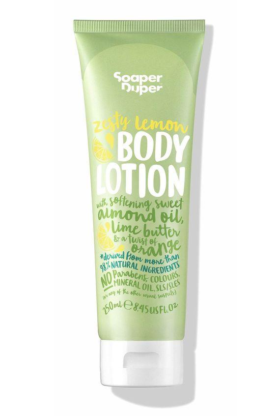 Soaper Duper Zesty Lemon Body Lotion, £8.50