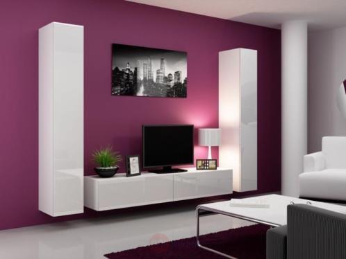 Productnaam Tv Wandmeubel Sarona Product Omschrijving Sarona Is Een Modern Compleet Zwevend Tv Wandmeub Wohnwand Weiss Hochglanz Wohnen Wohnzimmer Ideen Wohnung