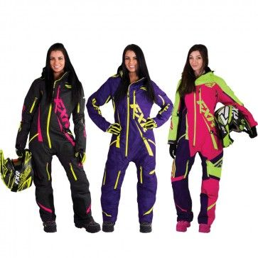 FXR Racing Maverick Lite Womens Skiing Snowboard Sled Snowmobile Monosuit
