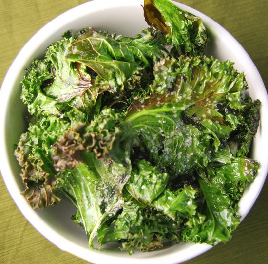 Kale Chips--surprisingly good and crazy good for you