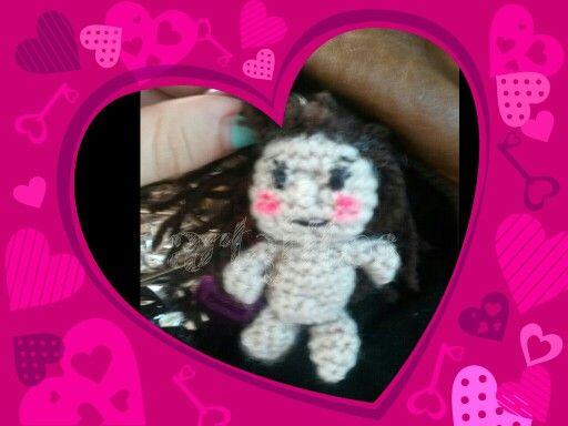 Llavero muñeca