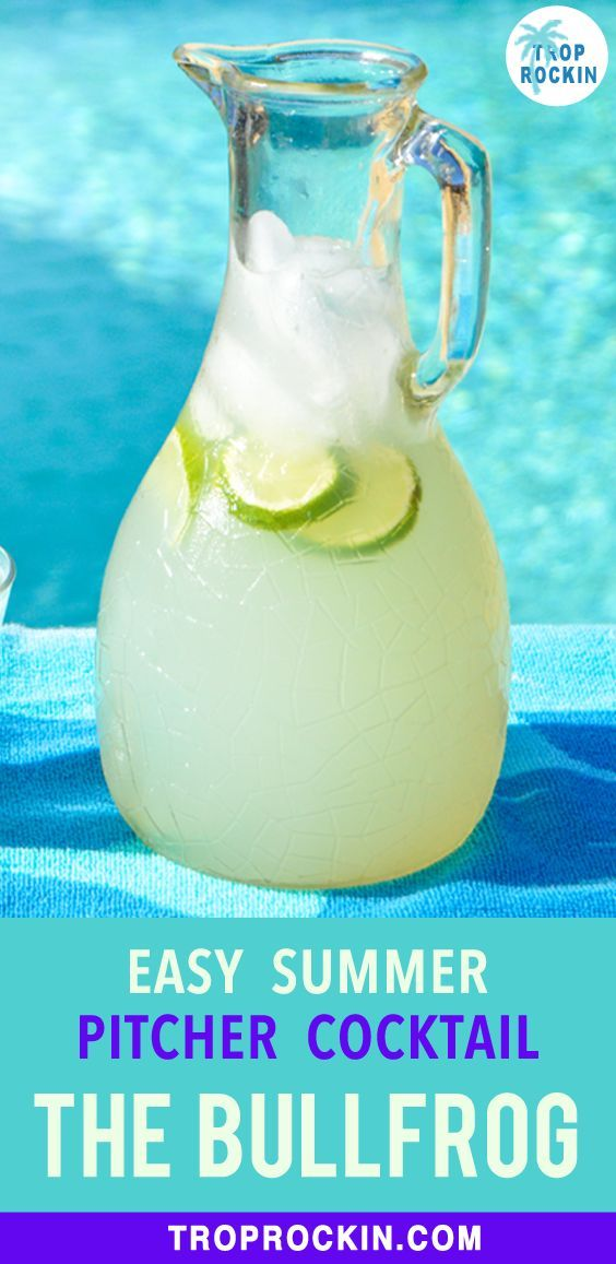 Easy Summer Cocktail Bullfrog Drink Recipe In 2020 Easy Summer Cocktails Summer Vodka Drinks Refreshing Summer Cocktails