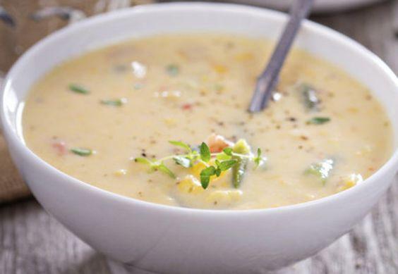 Käse Lauch Suppe vegetarisch | erdbeerlounge.de