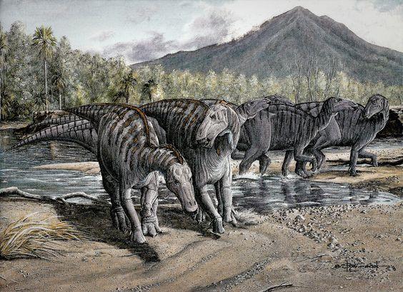 Triassic ∆ Jurassic ∆ Cretaceous