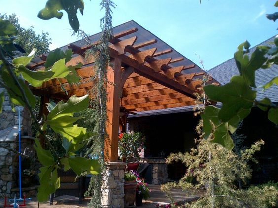 Plastic Patio Roof And Roof Panels On Pinterest