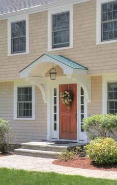 Entrance With Portico And Brackets Outdoor Portico Pinterest Porticos