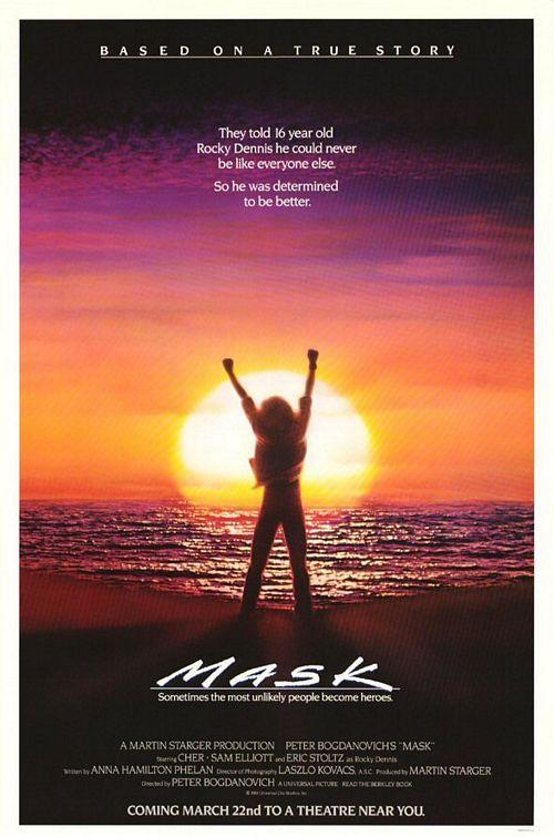 Mask Movie Poster: Movie Posters, Awesome Movie, Music Movies Books, Favorite Movies, 80S Tv Movies Music, Favorite Films, Film Poster, Movies I Ve