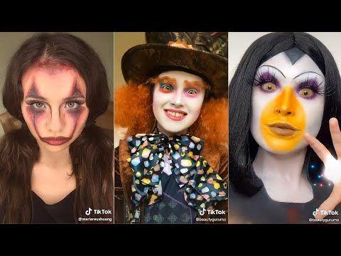 Halloween Makeup Ideas Compilation Tiktok Edition 2020 Youtube Halloween Makeup Makeup Halloween Face Makeup