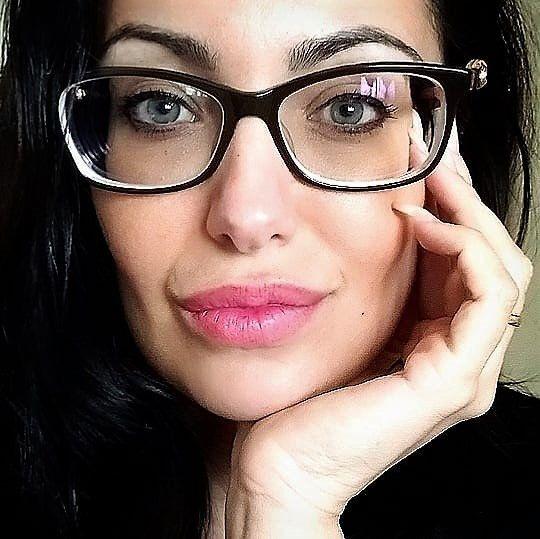 Glasses Teen Suck Dildo