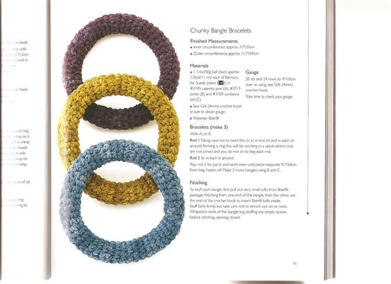 crochet jewelry 1