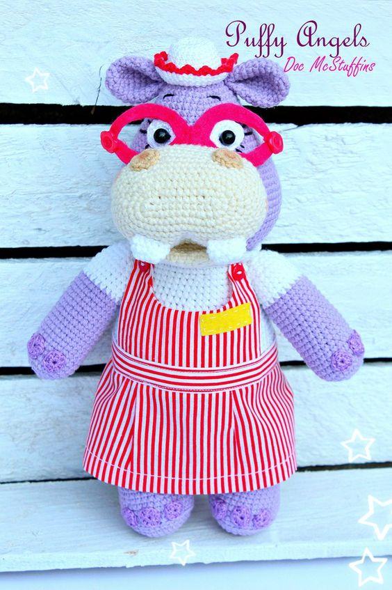 Hippo Amigurumi Patron : Free pattern, Amigurumi and The hippo on Pinterest