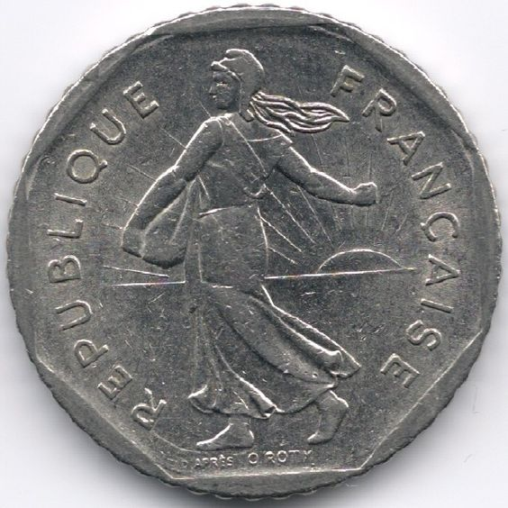 France 2 Francs 1979