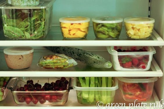 Sunday Night Prep to Eat Clean All Week {great site for clean eating!}