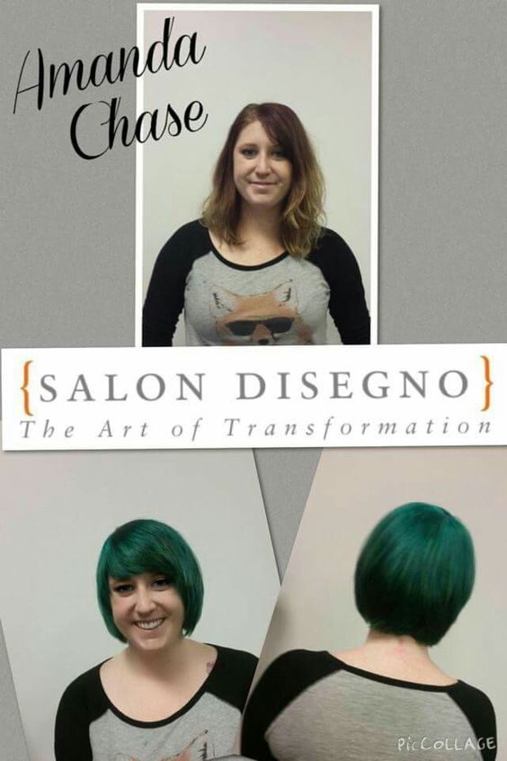 Haircut and Color by Amanda Chase 770/962-3060
