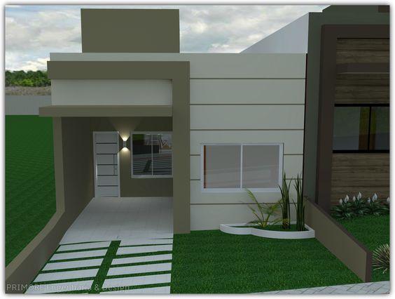 Fachadas de casas modernas pequeñas Fachadas de casas modernas Casas Casas modernas