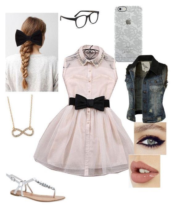 """""""Cute Date"""" by littlefeather11 ❤ liked on Polyvore featuring Larke, Forever 21, Uncommon, Jules Smith and Wet Seal"""