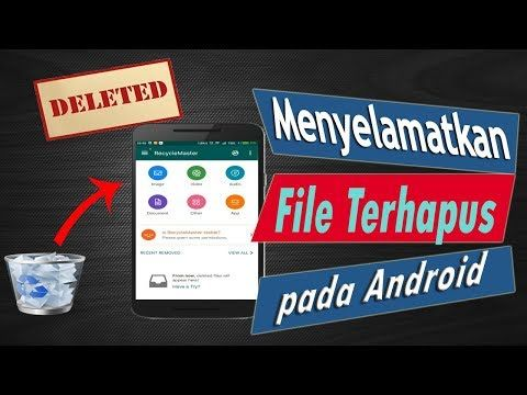 Your File Was Accidentally Deleted Open Playstore And Search Recycle Master Click Install Key Features Effortlessly Backup Your Android Smartphone Cara