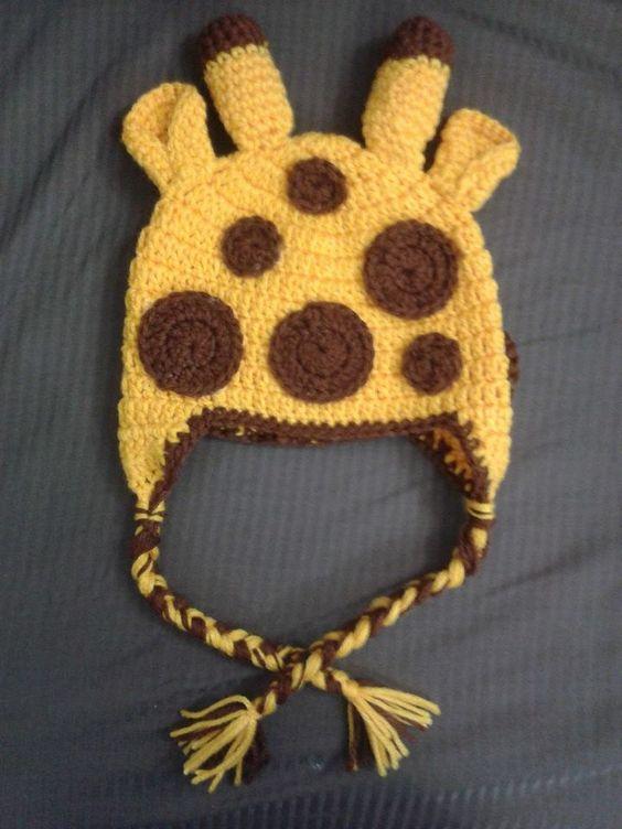 Touca Girafinha!!!
