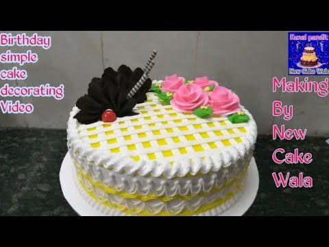 Top Amazing Pineapple Birthday Simple Cake Decorating Whipped Cream Idea New Cake Cake Easy Cake Decorating