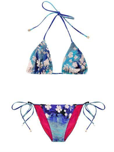 Splash-print bikini | Preen | MATCHESFASHION.COM