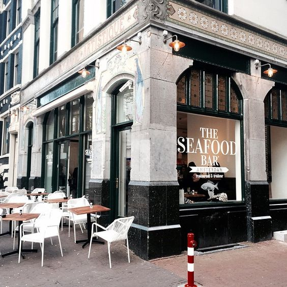 Pinterest the world s catalog of ideas for Seafood bar spui 15