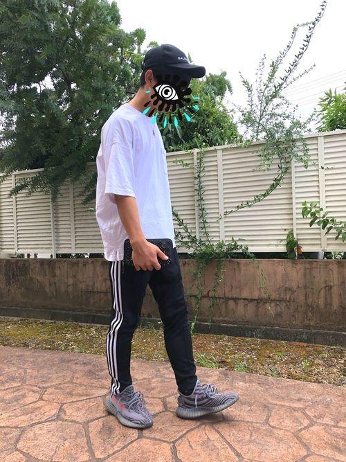 Yoshiki|BALENCIAGAのキャップを使ったコーディネート