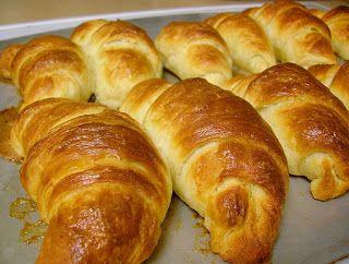 Varomeando: Croissants (brioche)