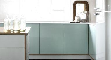 Esta gama de cocinas mezcla técnicas tradicionales de construcción con materiales eco modernos #diseño de #cocinas #linea3cocinas #madrid