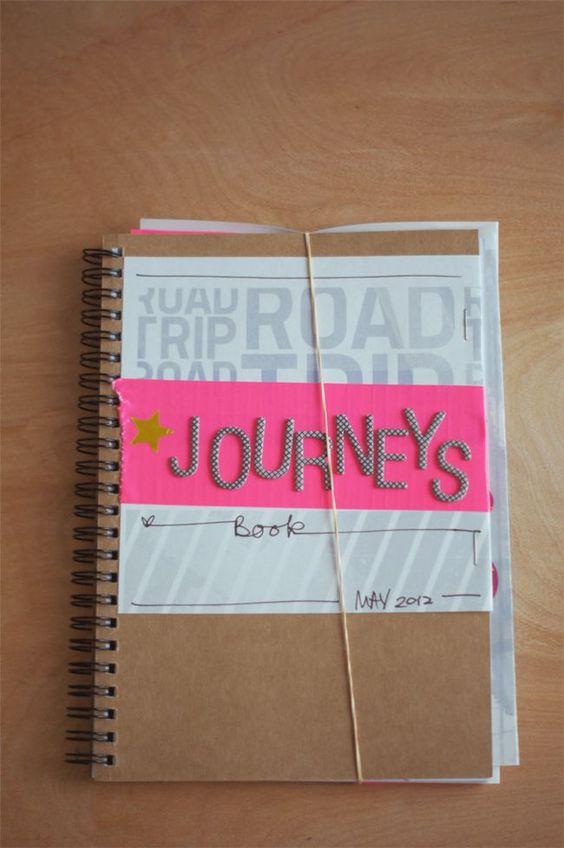 Road Trip Journal/Scrapbook
