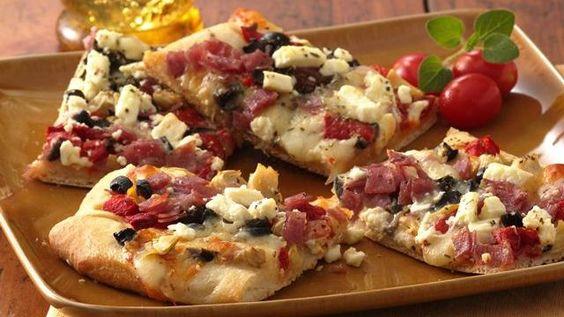 Antipasto Appetizer Pizza