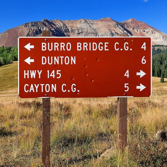 Follow the sign with the bullet holes to @duntonhotsprings where the Wild West feeling still lingers in the clean blue air! #travel @visitcolorado #roadtripusa #livecolorado